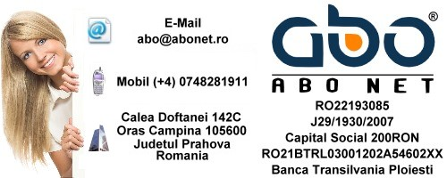Informatii contact ABO NET Inregistrari domeniu inregistrare domeniu domeniu .info